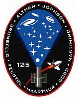 NASA STS-125 Atlantis Mission Patch